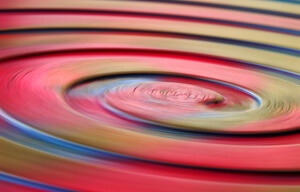 Spirale rot